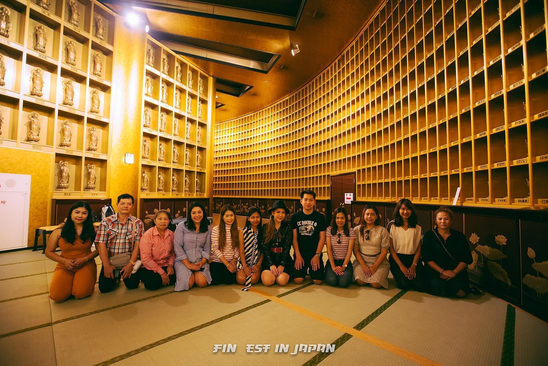 กรุ๊ป Finest  ทริปญี่ปุ่น 6-10 กันยายน 61