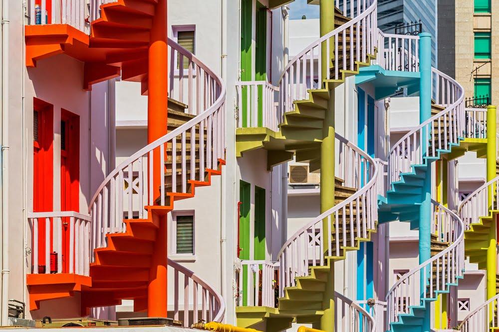 Spiral Staircases – Bugis Village